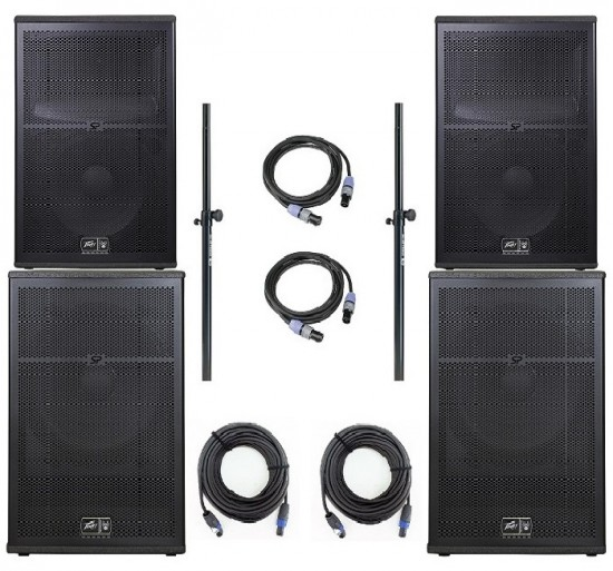 peavey sp2bx sp118bx passive pa speakers subs made in usa. Black Bedroom Furniture Sets. Home Design Ideas